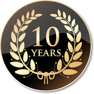 TEN YEARS SERVING THE BEST BEER IN SPAIN