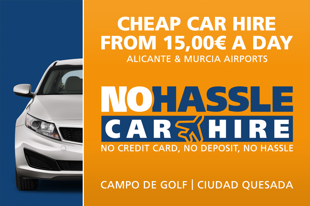 No Hassle Car Hire, Rojales and Ciudad Quesada